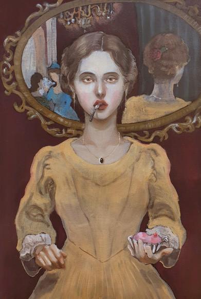"""Illustration for the novel """"Madame Bovary"""""""