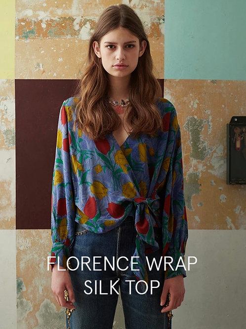 FLORENCE WRAP SILK TOP 01