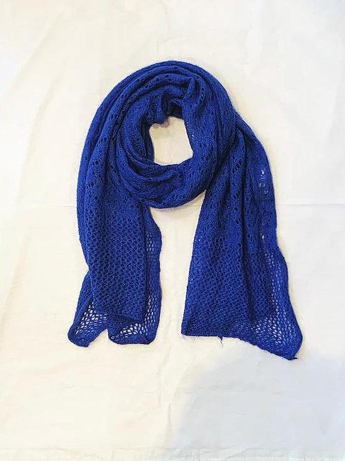 AUDREY SCARF ROYAL BLUE
