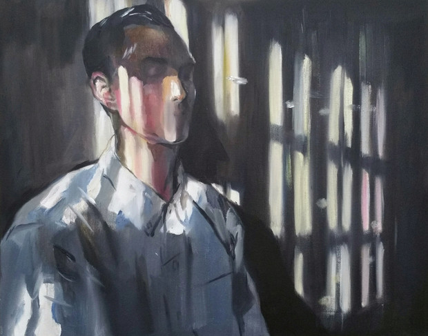 🔴 Dear Whee oil on canvas, 40cm x 50cm