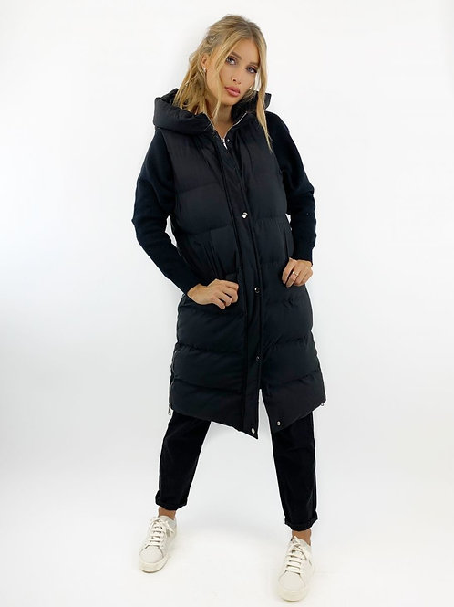 MIAMI PUFFY JACKET BLACK