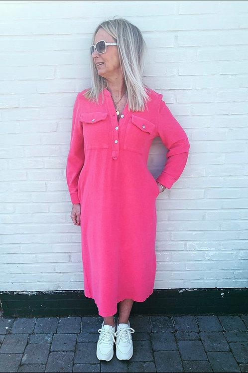 KATE TERRY DRESS FUCHSIA