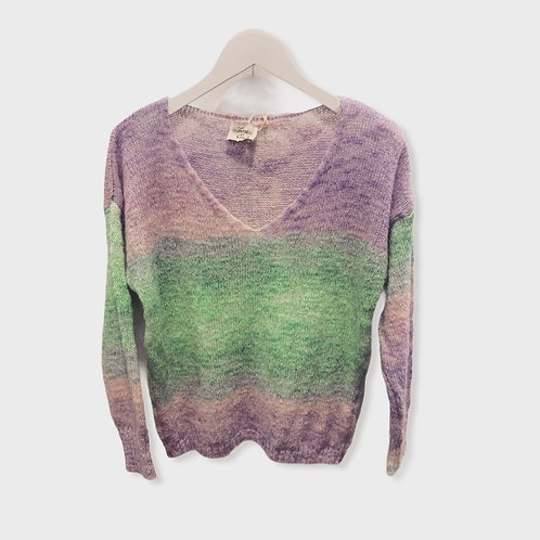 RAINBOW KNITTED SWEATER 4