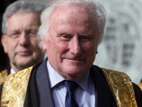 """Remembering Lord Kerr: Brian Kerr """"Barron Kerr of Tonaghmore"""""""