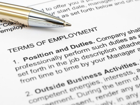 LAW3058 Employment Law Coursework Assessment First-Class Answer