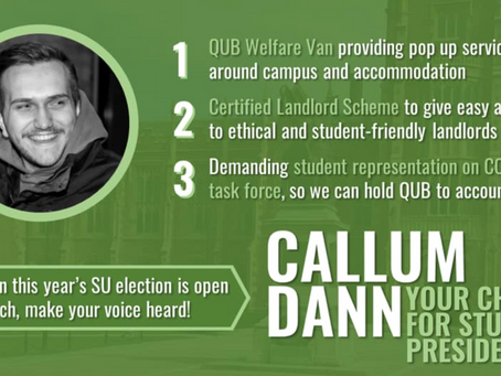 An Interview With Student Union President Candidate Callum Dann
