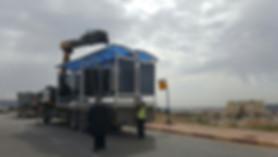 הקמת תחנות אוטובוס