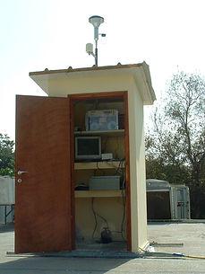 תחנת ניטור אוויר נייחת