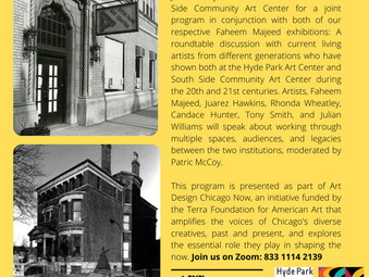 April 8th at 6pm: Artists at the Center