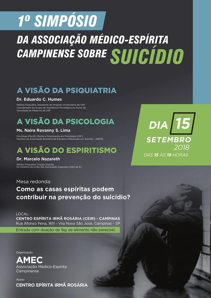 1º SIMPÓSIO DA ASSOCIAÇÃO MÉDICO ESPÍRIT