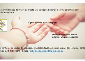 Ajuda a famílias com dificuldades alimentares