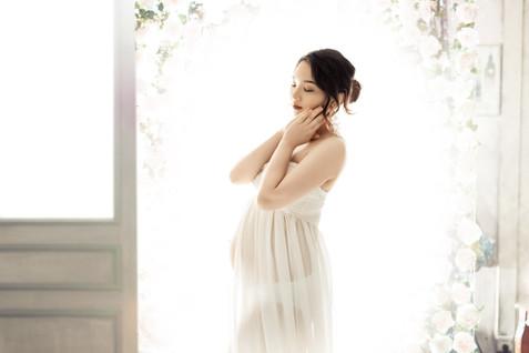 布里斯班女摄影师孕妇照摄影写真工作室大肚照怀孕拍照