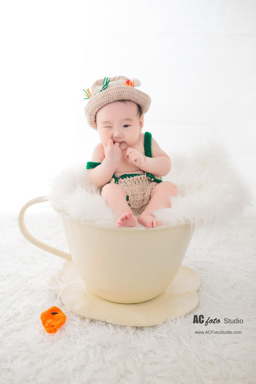 布里斯班黄金海岸新生儿满月照百日照摄影工作室100天宝宝婴儿儿童摄影