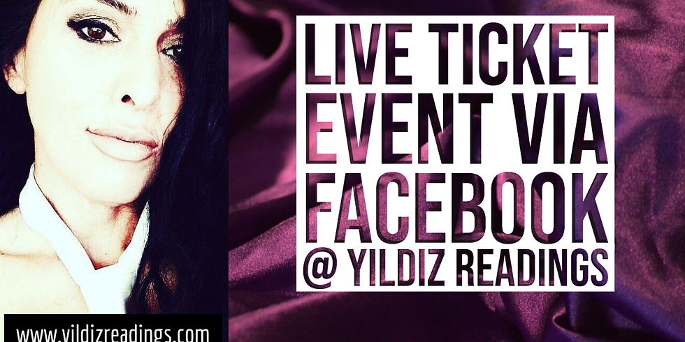 EVENT LIVE ON FACEBOOK UNDER YILDIZ READINGS