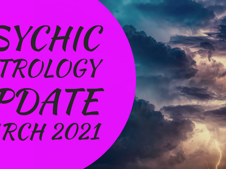 PISCES PSYCHIC READING MARCH 2021 + ASTROLOGY