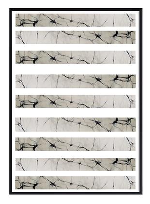 Batik Stripes Print