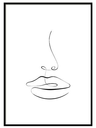 Visage Print