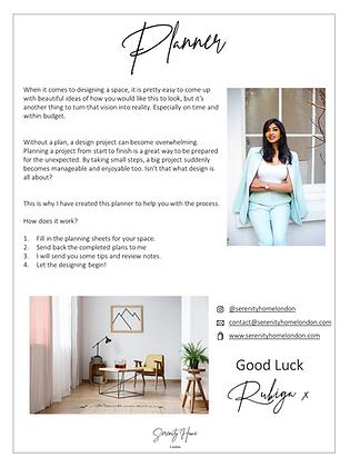 Interior Design Consultation & Planner