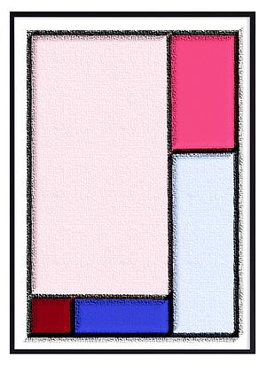 Abstract Pink Print