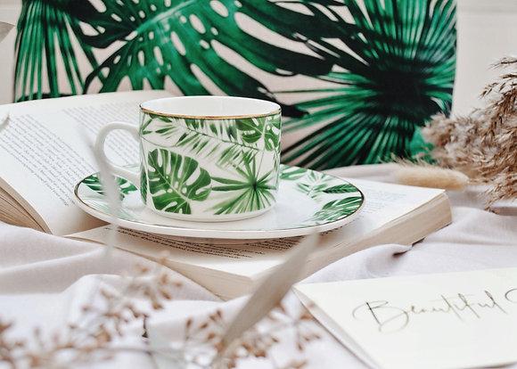 Tropical Cup & Saucer