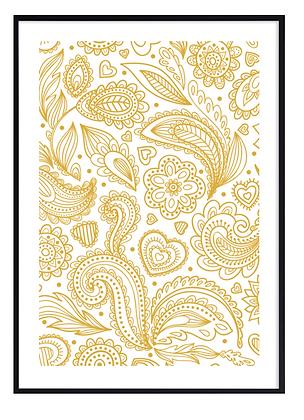 Yellow Happiness Print