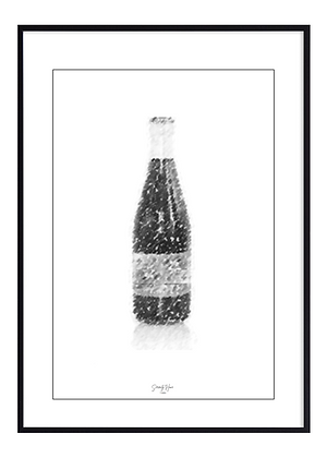 B&W Drink Print