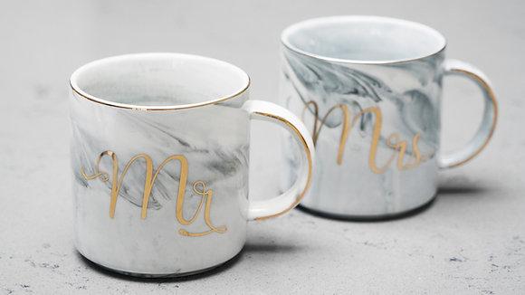 Mr & Mrs Swirl Mugs