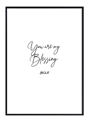 You are my blessing Appa (Dad)