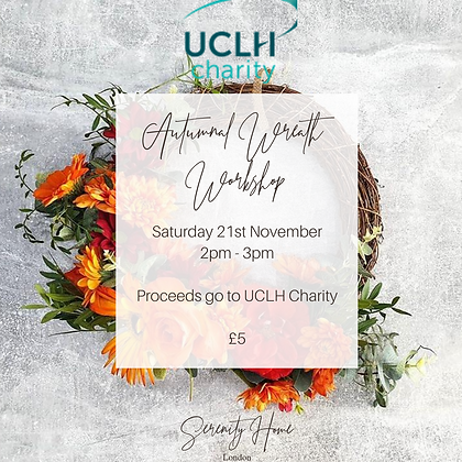 Autumnal Wreath Workshop: Saturday 21st Nov 20