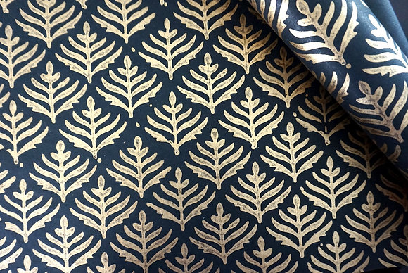 Leaf - Handmade Cotton Wrapping Paper