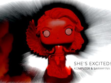 Dark Phoenix On The Rise