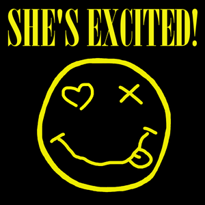 She's Excited! covering Nirvana - highly energetic EDM