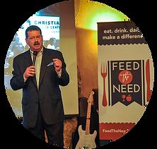 fundraiser event speaker