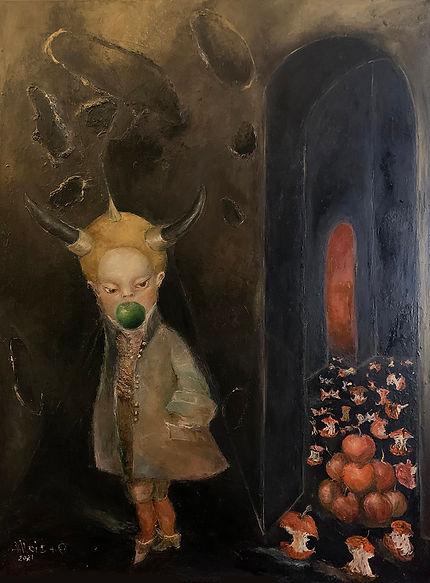 Allois_Orchard of Love_2021_oil on canvas_ 48 x 36 insm.jpg