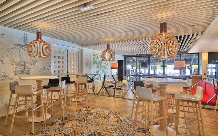 """Peinture décorative - Restaurant """"La Créole"""" à la Guadeloupe"""