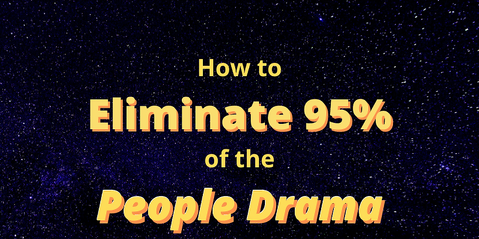 BBN Monthly: Eliminate 95% of the People Drama in Your Organization