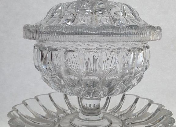 Drageoir en cristal de Baccarat