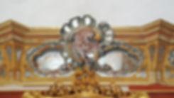 Decors peint en trompe l oeil dans le gout du 18eme siecle