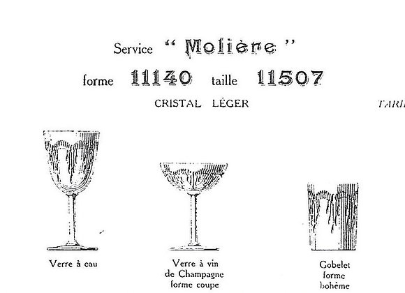MOLIERE - Baccarat
