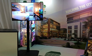 Monitor TV Rentals for Trade Shows