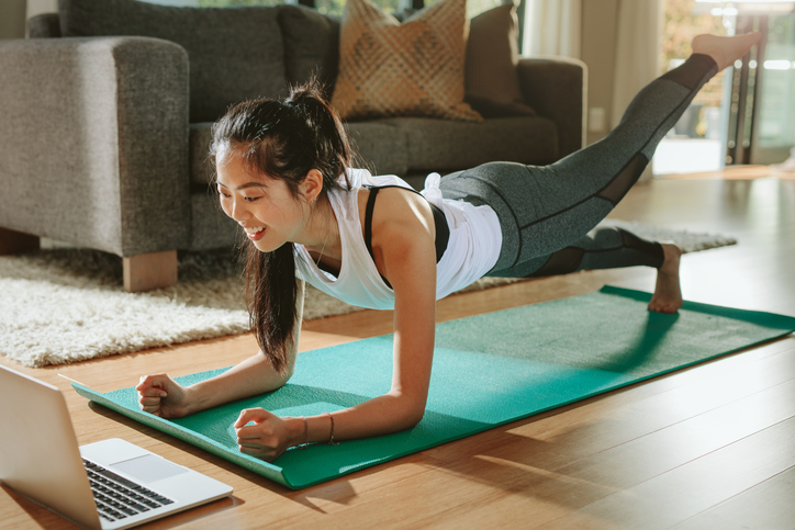 Online fitness classes
