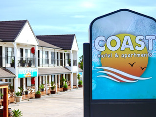 The new COAST Motel and Apartments