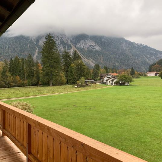 Blick vom Balkon Boiderköpfl