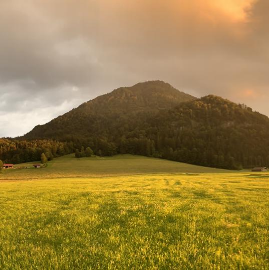 Blick von westen Richtung Rauschberg