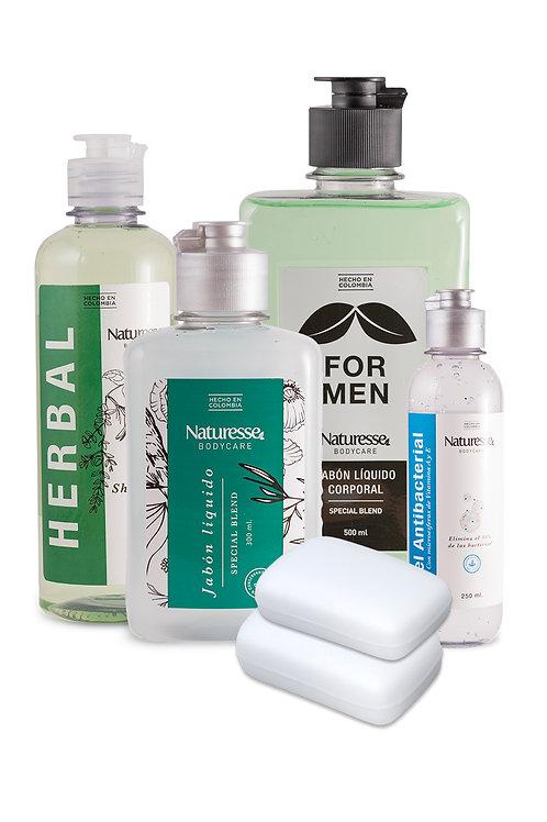 Kit de regalo: Clean-n-Go para Hombres