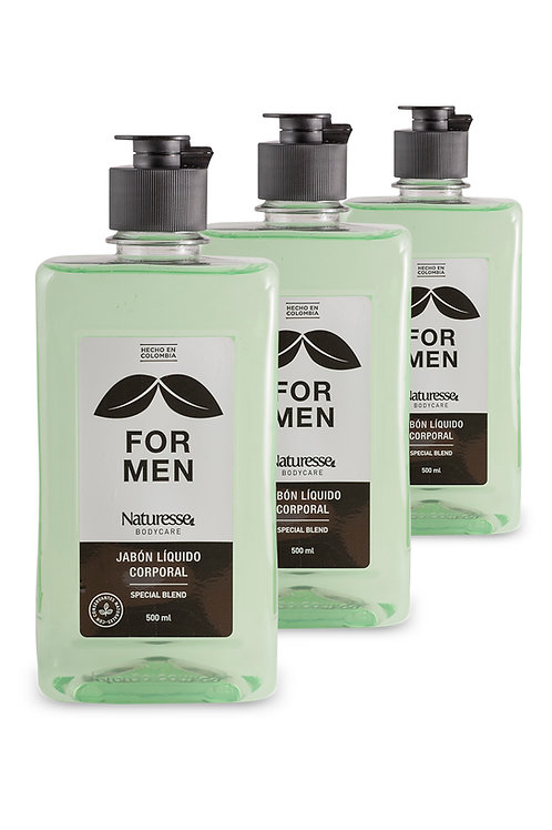 12 unidades - Jabón For Men