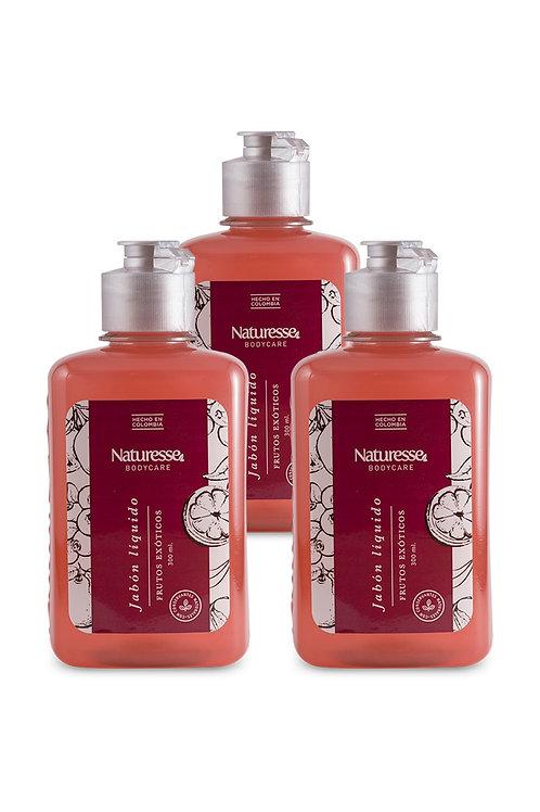 12 unidades - Jabón líquido - Frutos exóticos 300ml