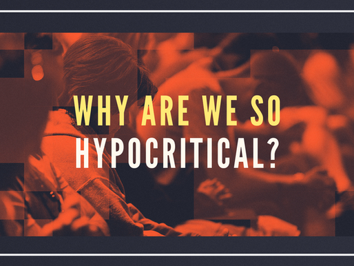 Why Are We So Hypocritical?