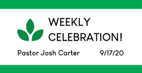 Weekly Celebration! (Sept. 17)