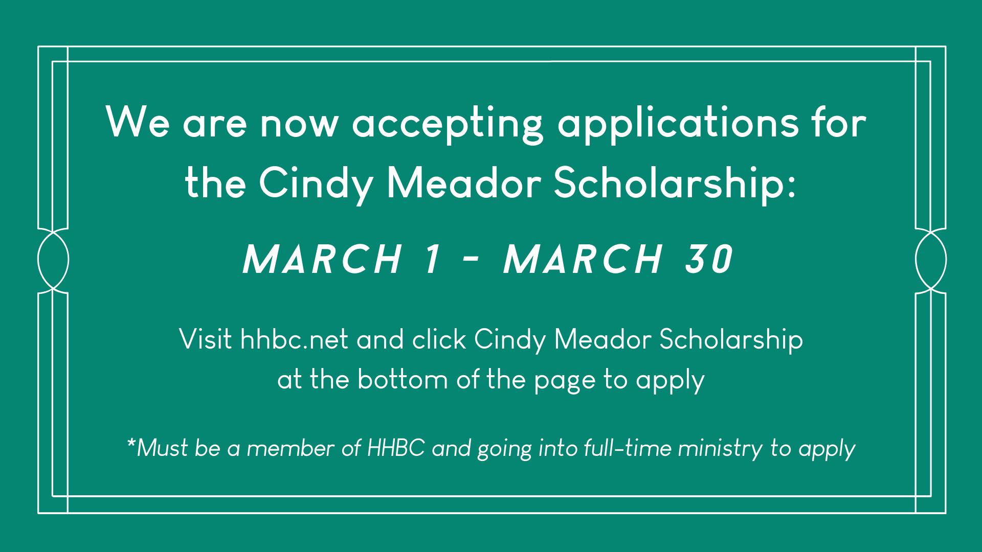 Cindy Meador Scholarship.png